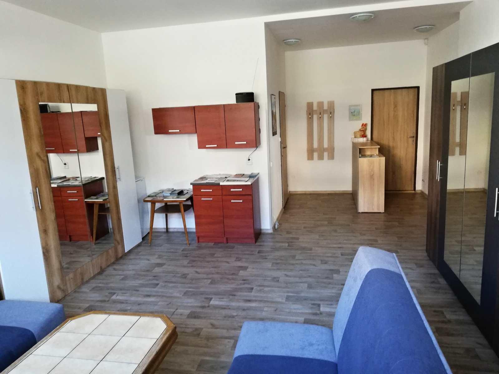 Recepce apartmánového domu CARMEN